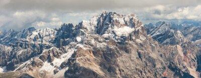 Väggdekor dolomiter berg