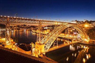 Väggdekor Dom Luis Bridge