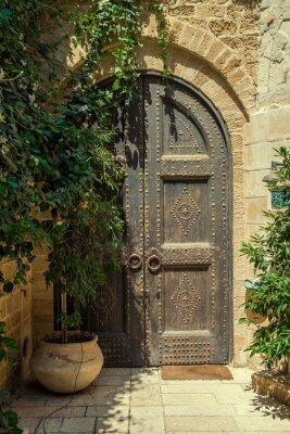 Väggdekor dörr