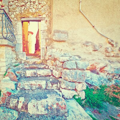 Väggdekor Dörr i väggen