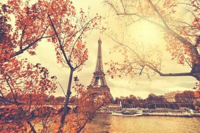 Väggdekor Eiffeltornet i Paris