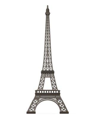 Väggdekor Eiffeltornet Isolerad