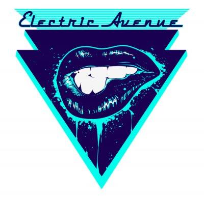Väggdekor Electric Avenue