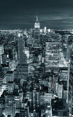 Väggdekor Empire State Building närbild