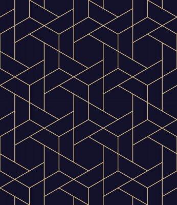 Väggdekor enkelt sömlöst geometriskt rutnät vektor mönster