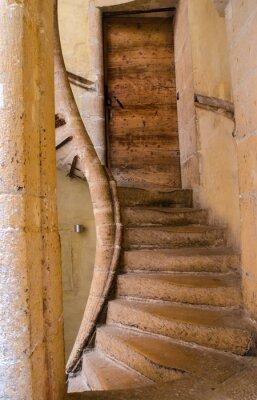 Väggdekor Escaliers renässans à Lyon