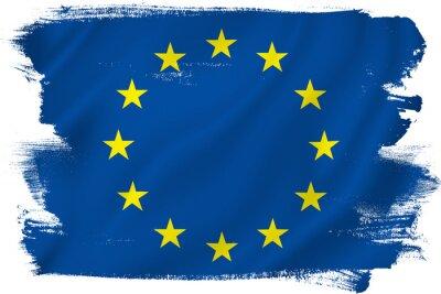 Väggdekor EU-flaggan