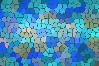 Väggdekor färgatglas