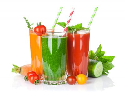 Väggdekor Färsk grönsak smoothie