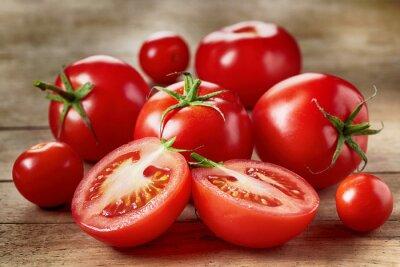 Väggdekor Färska röda tomater