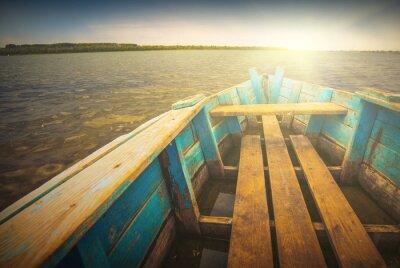 Väggdekor Fartyg på en river_5