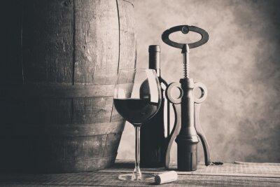 Väggdekor fint vin