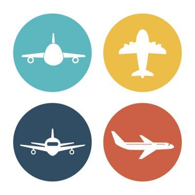 Väggdekor Flygplan och resor
