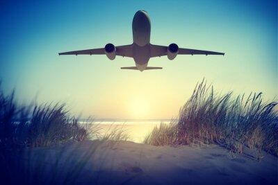 Väggdekor Flygplan resmålet Utomhus Ta bort Concept