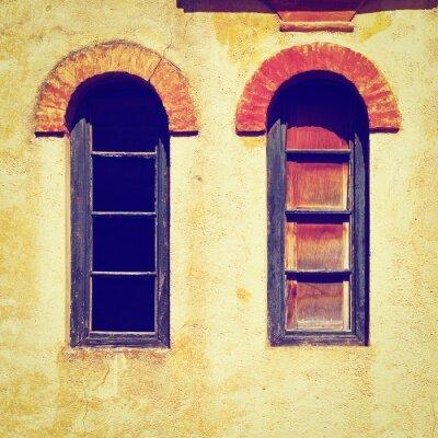 Väggdekor fönster