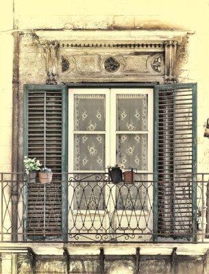 Väggdekor Fönster i Palermo
