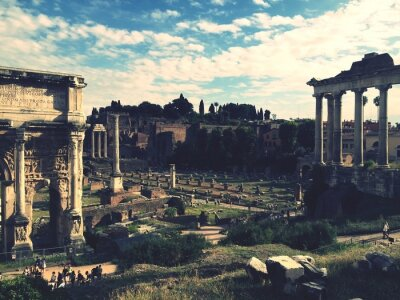 Väggdekor Forum Romanum, Rom