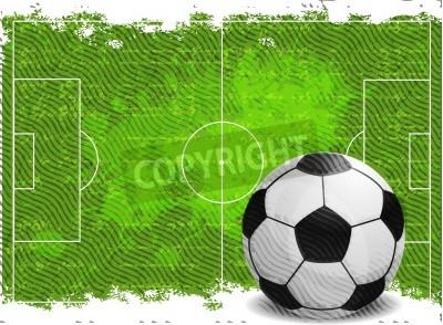 Väggdekor Fotboll design bakgrund