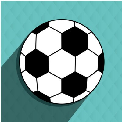 Väggdekor fotboll fotbolldesign
