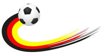 Väggdekor Fotboll - Tyskland