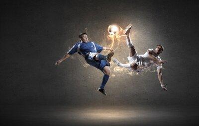 Väggdekor Fotbollsspelare