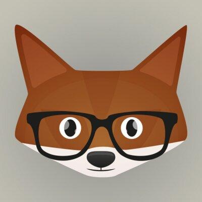 Väggdekor Fox avatar