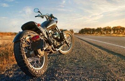 Väggdekor Freedom.Motorbike enligt himmel