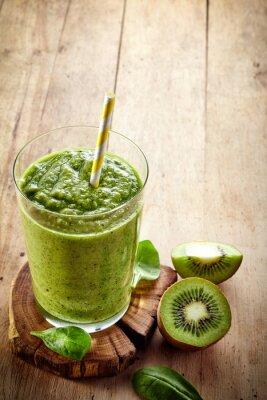 Väggdekor Friska grön smoothie