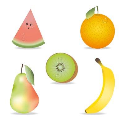 Väggdekor frukt Collection