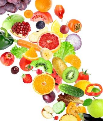 Väggdekor Frukt och grönsaker