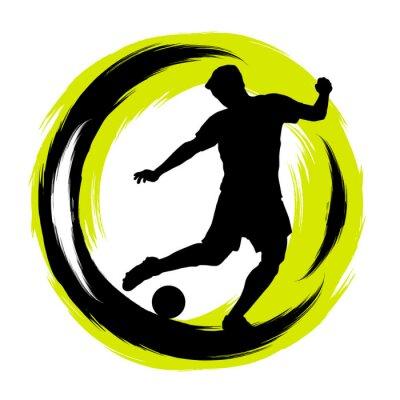 Väggdekor Fussball - Fotboll - 196