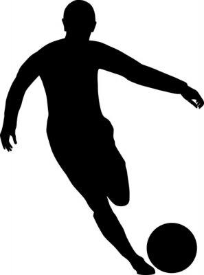Väggdekor Fussballspieler