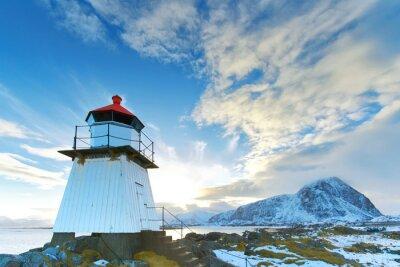 Väggdekor Fyr i Lofoten