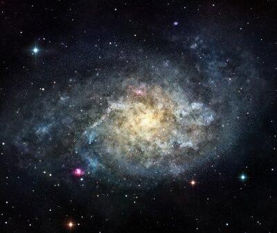 Väggdekor galaxen