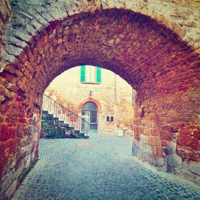 Väggdekor gamla Arch