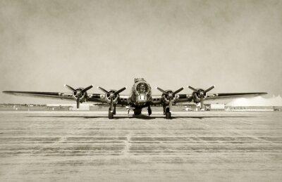 Väggdekor Gammal bombplan framifrån