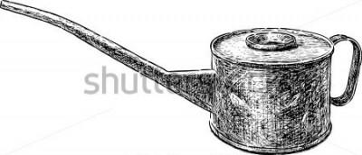 Väggdekor gammal kopparkedja
