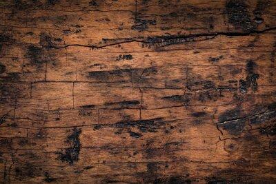 Väggdekor Gammal träplank textur bakgrund. Naturväderad konsistens av träplankor.