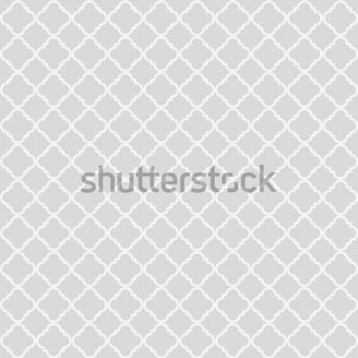 Väggdekor Geometriska abstrakta sömlösa mönster. Klassisk bakgrund. Vektorillustration