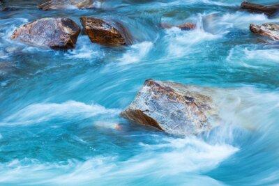 Väggdekor Glacier river
