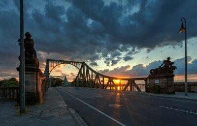 Väggdekor Glieneker bridge