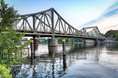 Väggdekor Glienicker Brücke Potsdam / Berlin