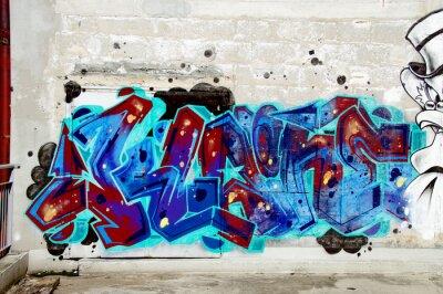 Väggdekor graffiti