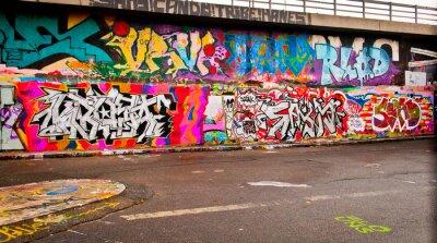 Väggdekor graffitti Vägg