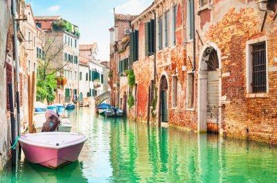 Väggdekor Grande i Venedig, Italien.