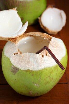 Väggdekor Grön kokos vatten