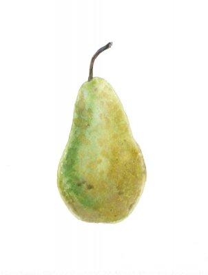 Väggdekor grön pear