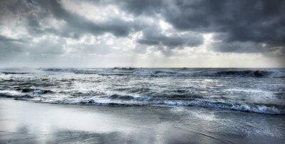 Väggdekor grov hav