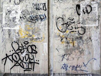 Väggdekor Grunge Wall konsistens bakgrund i Bangkok