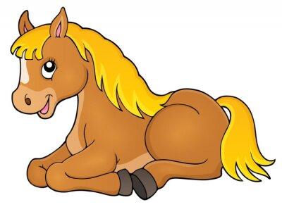 Väggdekor Häst ämne image 1